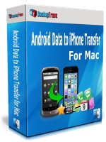 Backuptrans Android Data to iPhone Transfer for Mac