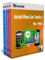 Android iPhone Line Transfer + for Mac