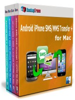 Android iPhone SMS/MMS Transfer + for Mac