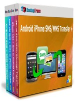 Android iPhone SMS/MMS Transfer +