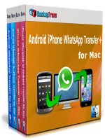 Android iPhone WhatsApp Transfer + for Mac