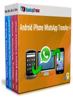 Resultado de imagen para Backuptrans Android iPhone WhatsApp Transfer Plus