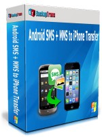 Android SMS + MMS to iPhone Transfer