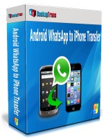 Android WhatsApp to iPhone Transfer