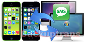 Backup and Restore iPhone 5S/5C SMS on Computer