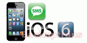 how to backup and restore sms on ios 6 iphone