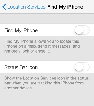 how to disable find my iphone on a stolen phone how to disable find my iphone 1899