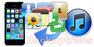 Recover and Restore Data From iTunes Backup to iPhone 5S