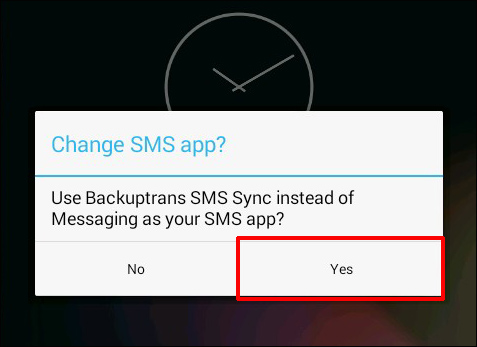 Confirm to Transfer SMS MMS Messages from iPhone to Nexus 5 Hangouts