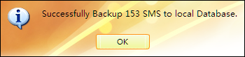 Transfer and backup iPhone 5 SMS to computer ok