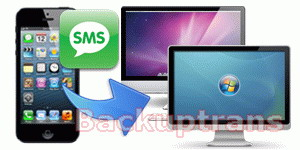 transfer and backup iPhone 5 SMS to computer