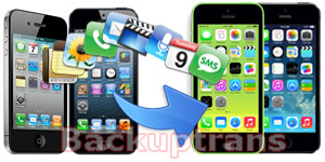 Transfer Data from iPhone 3GS/4/4S/5 to iPhone 5S/5C