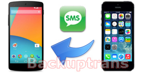 Transfer iPhone Messages(SMS & MMS) to Nexus 5 Android 4.4 Transfer-sms-mms-from-iphone-to-nexus-5