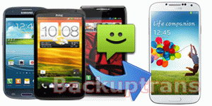 Transfer SMS/MMS to Galaxy S4 from Android(Samsung,HTC,Motorola,Sony,LG)