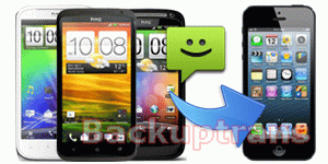 how to transfer SMS to iPhone 5 from HTC One/EVO/Desire/Sensation etc