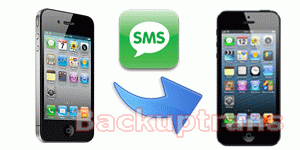 how to transfer SMS to iPhone 5 from iPhone 4/4S