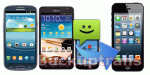 how to transfer SMS to iPhone 5 from Samsung Galaxy S3/S2/Note/Tab etc