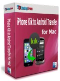 iPhone Kik to Android Transfer for Mac