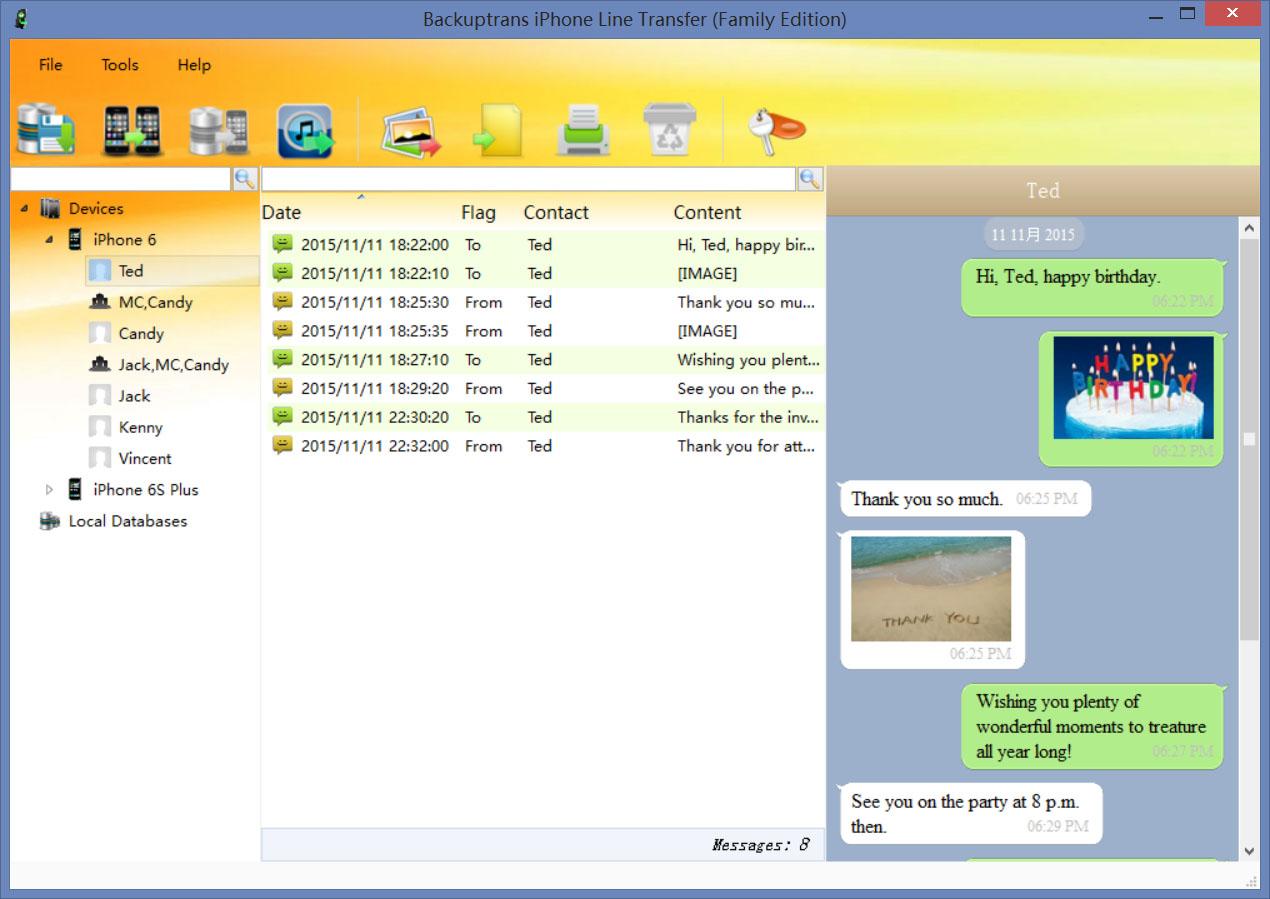 Windows 7 Backuptrans iPhone Line Transfer 3.1.01 full