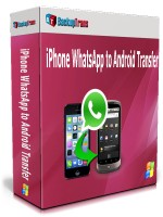 iPhone WhatsApp to Android Transfer