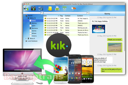 Backup & Restore Kik Messages for Android Phone(No Root
