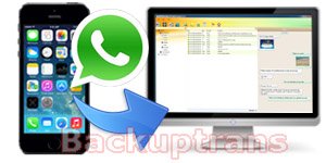 Backup iPhone WhatsApp Chat History to Computer
