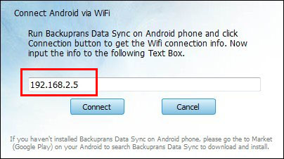 Connect Android to Computer via WiFi for Data Transfer
