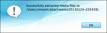 extract attachments from Android MMS to Mac successfully