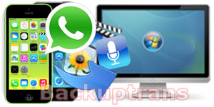Extract iPhone WhatsApp Messages Video, Photo, Voice, Audio Note to Computer