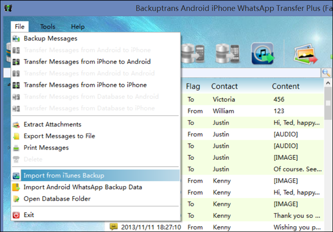 iphone messages on pc transfer messages from to iphone with itunes 8792