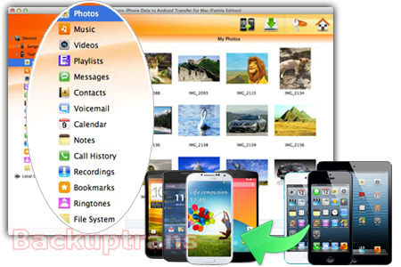 iPhone Data to Android Transfer - Move iPhone Data to Android Easily Iphone-data-to-android-transfer-software