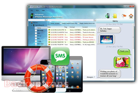 How do i restore my text message without backup Iphone-message-recovery-software