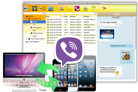 Copy iPhone Viber Chat Messages to Computer or another iPhone - HTC ...