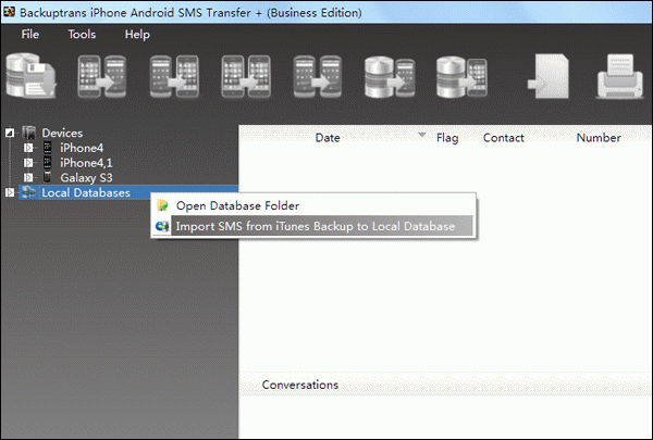 Transfer SMS to Android from iPhone with iOS 6.