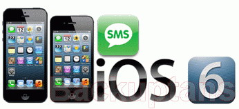 manage SMS on iPhone with iOS 6