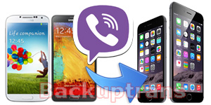 Migrate Android Viber Messages to iPhone on Mac