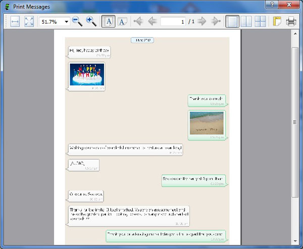 How to Print WhatsApp Messages from Android on Computer
