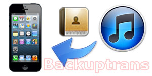 Recover deleted or lost iPhone Contacts from iTunes Backup