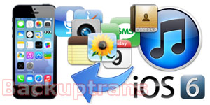 Restore data from iTunes Backup After Updating to iOS 7