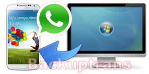 Restore WhatsApp Chat History to Android from Computer