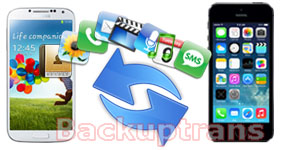 Transfer Data Between Android and iPhone in Clicks