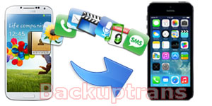 Transfer Data from Android to iPhone in Clicks