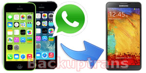 Transfer iPhone WhatsApp Chat History to Android on Mac