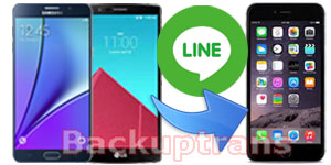 Transfer Line Chat History from Android to iPhone