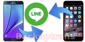 Transfer Line Chat History between Android and iPhone