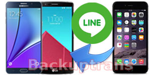 Transfer Line Chat History from iPhone to Android