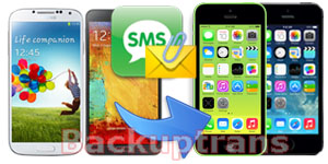 Transfer Messages(SMS & MMS) from Android to iPhone