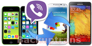Transfer Viber Chat History between Android and iPhone