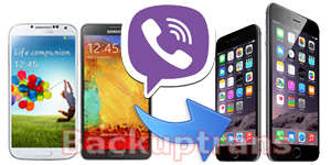 Transfer Viber Chat History from Android to iPhone