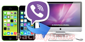 Transfer Viber Chat History from iPhone to Mac
